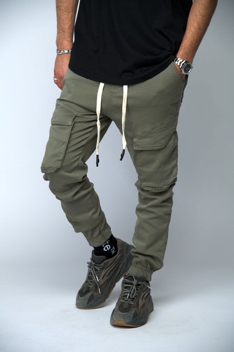 CARGO PANTS KAKI - SUMMER19
