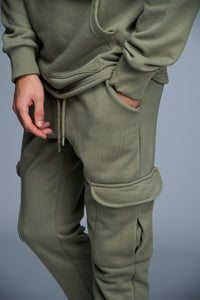 JOGGER SIDE POCKET - KAKI