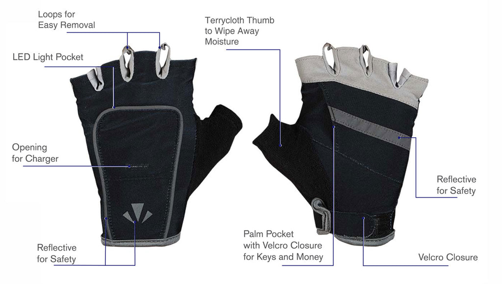 Half-Length Gloves