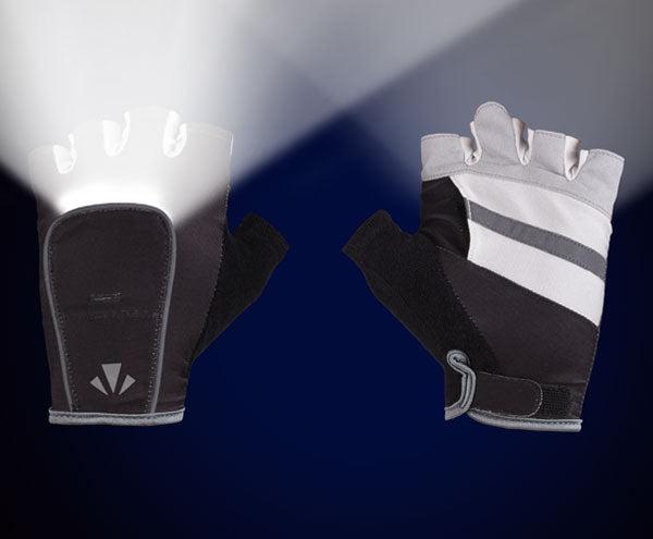 MangataLites Charcoal & White Half Gloves Kit (Lights included) - Mangata