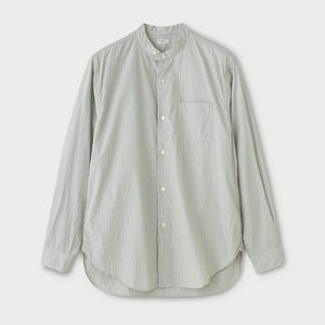 PHIGVEL -BAND COLLAR DRESS SHIRT- STRIPE