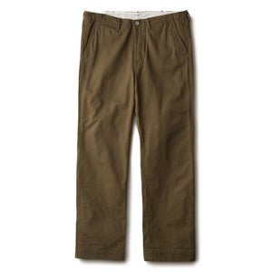 PHIGVEL -OFFICER TROUSERS REGULAR- V.OLIVE