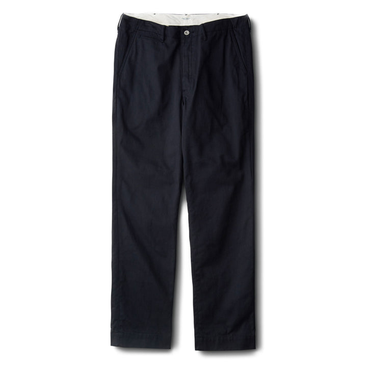 PHIGVEL -OFFICER TROUSERS REGULAR- INK BLACK