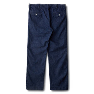 PHIGVEL -OFFICER TROUSERS REGULAR- INDIGO
