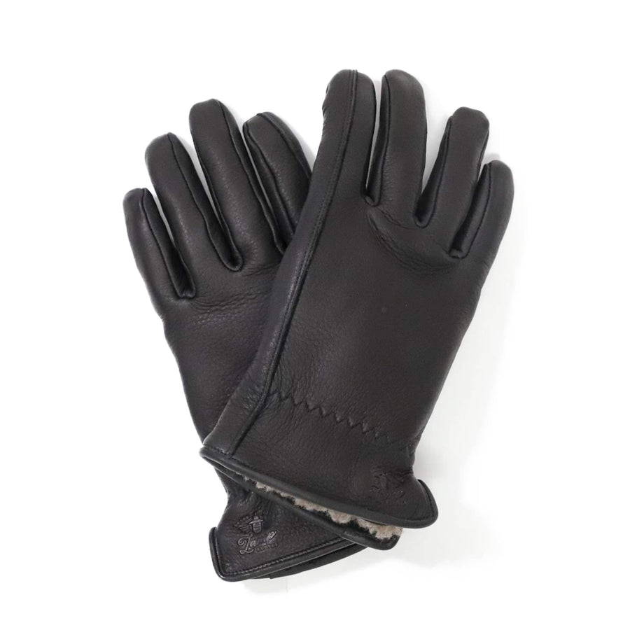 Lamp gloves -Winter glove- BLACK