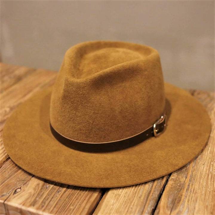 SOLARIS HATMAKERS & Co. -Rabbit velour hat- McKINLEY