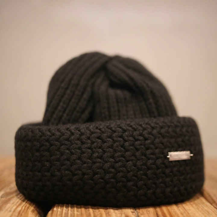 SOLARIS HATMAKERS & Co. -CHUNKY WATCH CAP- HUNTER