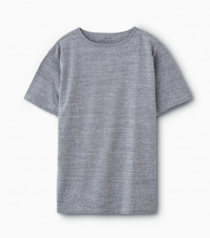PHIGVEL -NAVAL TEE- TOP GRAY