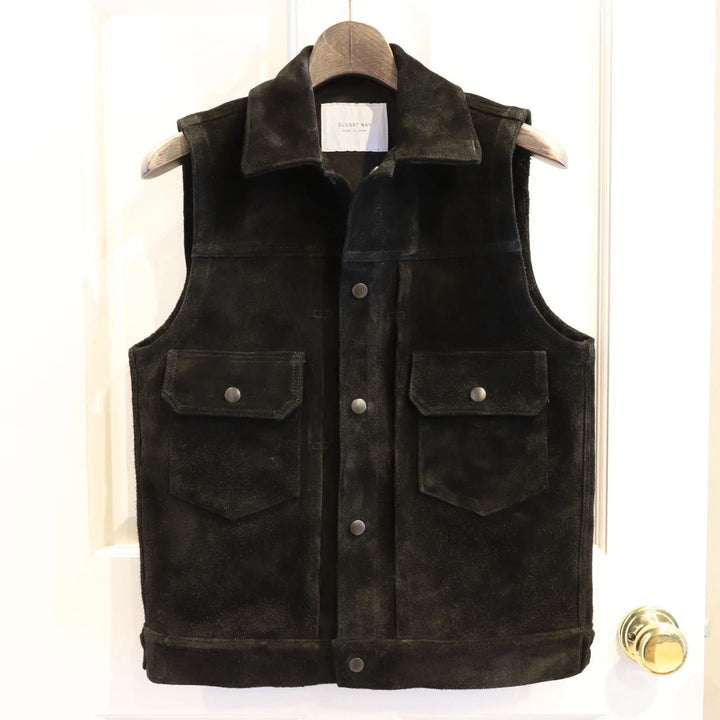 SUNSET BAY -HUDSON VEST- BLACK