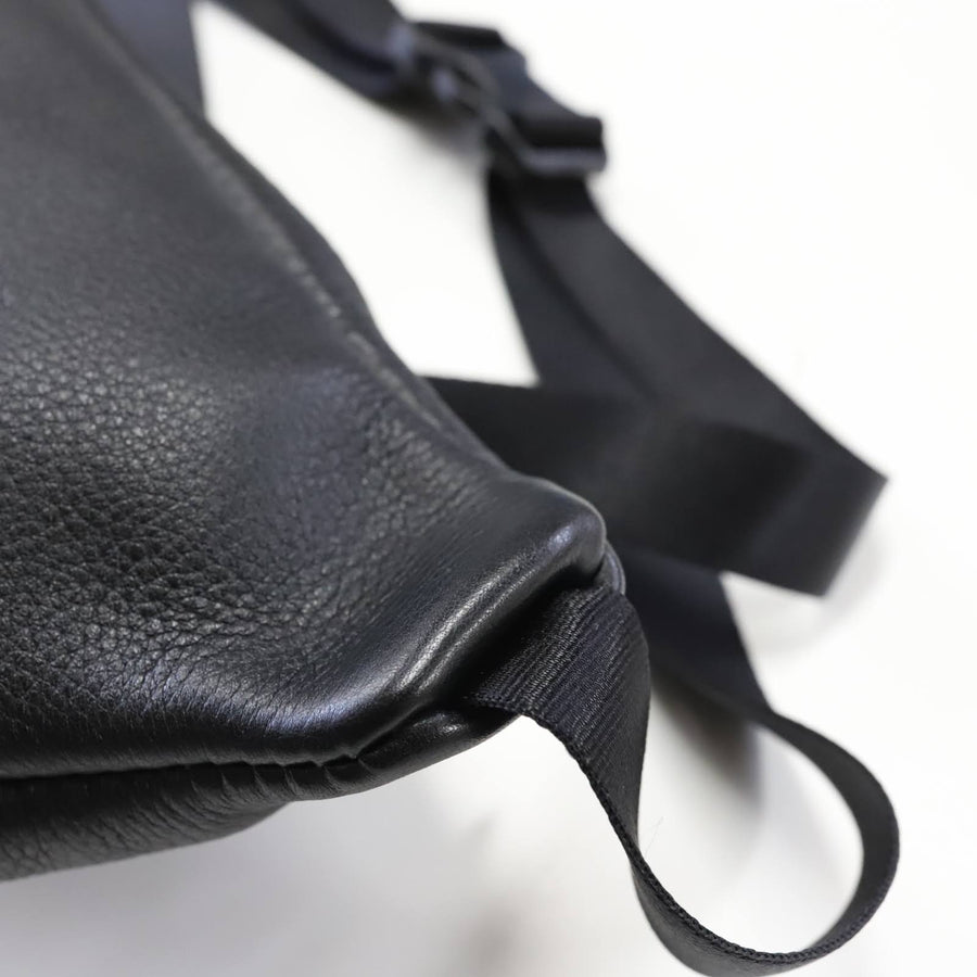anemoscope -MINIMAL LEATHER POCHETTE- BLACK