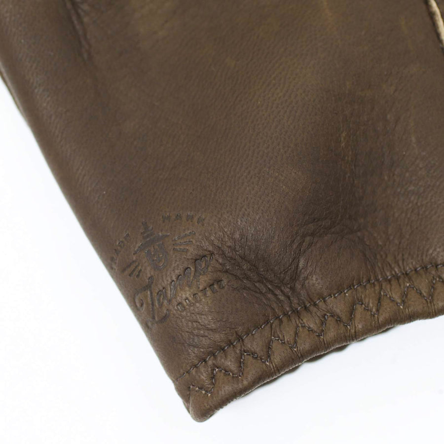 Lamp gloves -Utility glove Shorty- FOREST BROWN