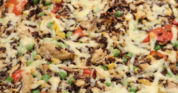 Black Rice Tuna Casserole