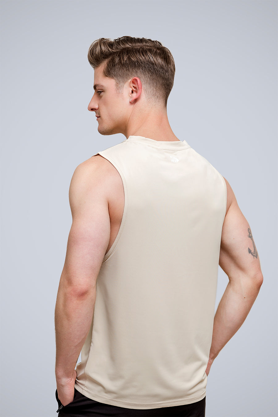 Men's FreedomFit Tan Basic Tank