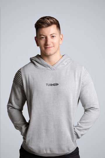 Windsor Men's Hoodie - Grey