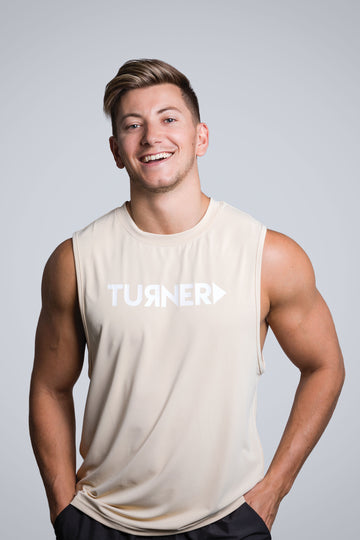 Men's FreedomFit Tank Top - Tan