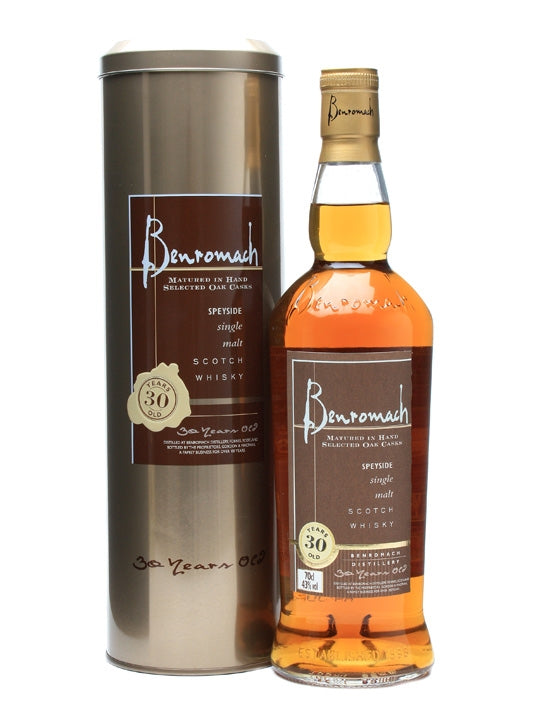 Benromach Hermitage Collection 30 YO