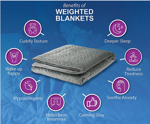 Why Weighted Blankets  – Sweet Dreams Collection b0465495a