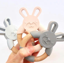 Load image into Gallery viewer, Hop Bunny Teething Ring