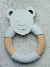 Load image into Gallery viewer, Beary Cute Teething Ring