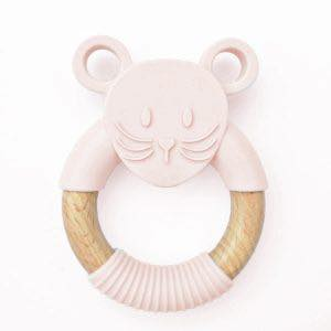 Little Mouse Teething Ring