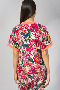 Sold out - Kimono Top in Potpourri Print - Deen & Keenu