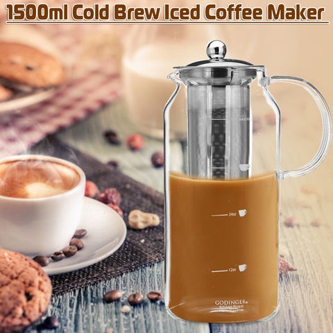 1500 ml Iced Coffee Infuser Cold Brew