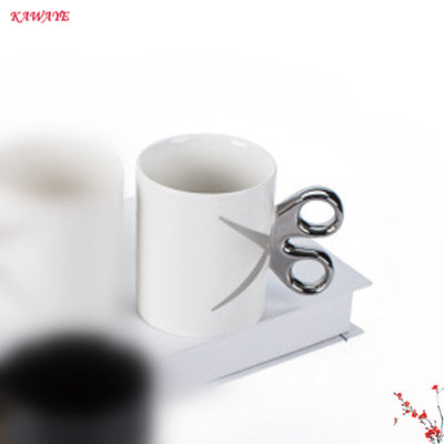 Novelty Scissors Coffee Mug