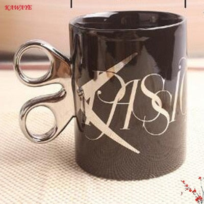 Image of Novelty Scissors Coffee Mug