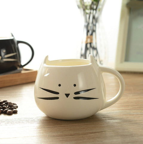Image of Cat Animal Coffee Cups