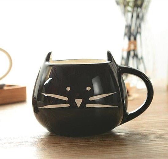 Cat Animal Coffee Cups