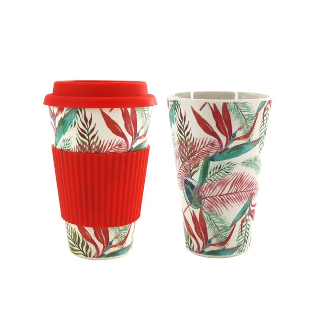 Best Quality Bamboo Fiber Coffee Mug for Travel