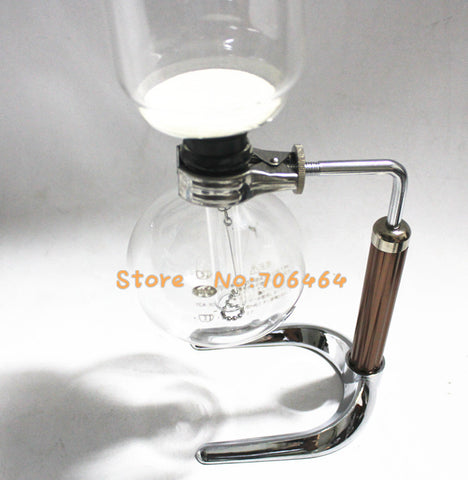 5 Cups Syphon Coffee Maker Vacuum