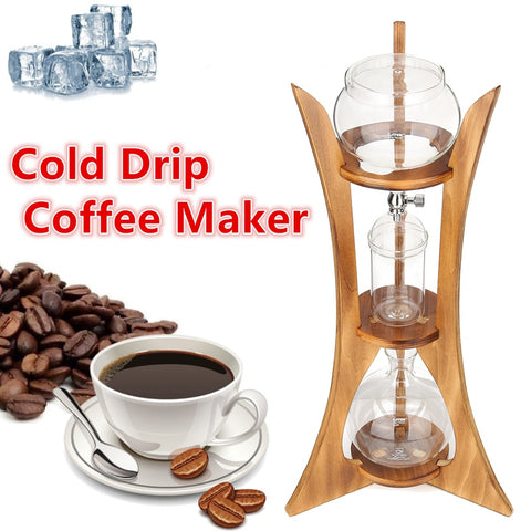 8 Cups Drip Syphon Cold Brew Coffee Maker
