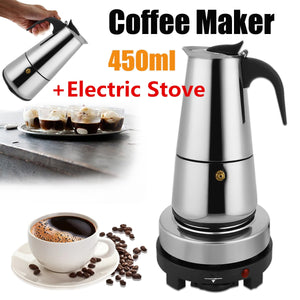 9 Cups Stainless Steel Coffee Percolator