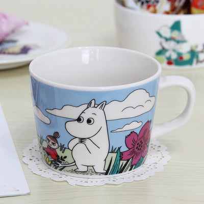 Image of Cartoon Hippo Ceramic Coffee Mug