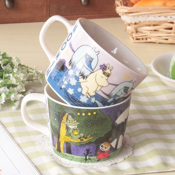 Cartoon Hippo Ceramic Coffee Mug