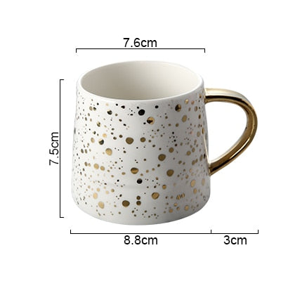 Starry Ceramic Coffee Cup