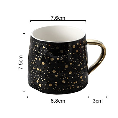 Image of Starry Ceramic Coffee Cup
