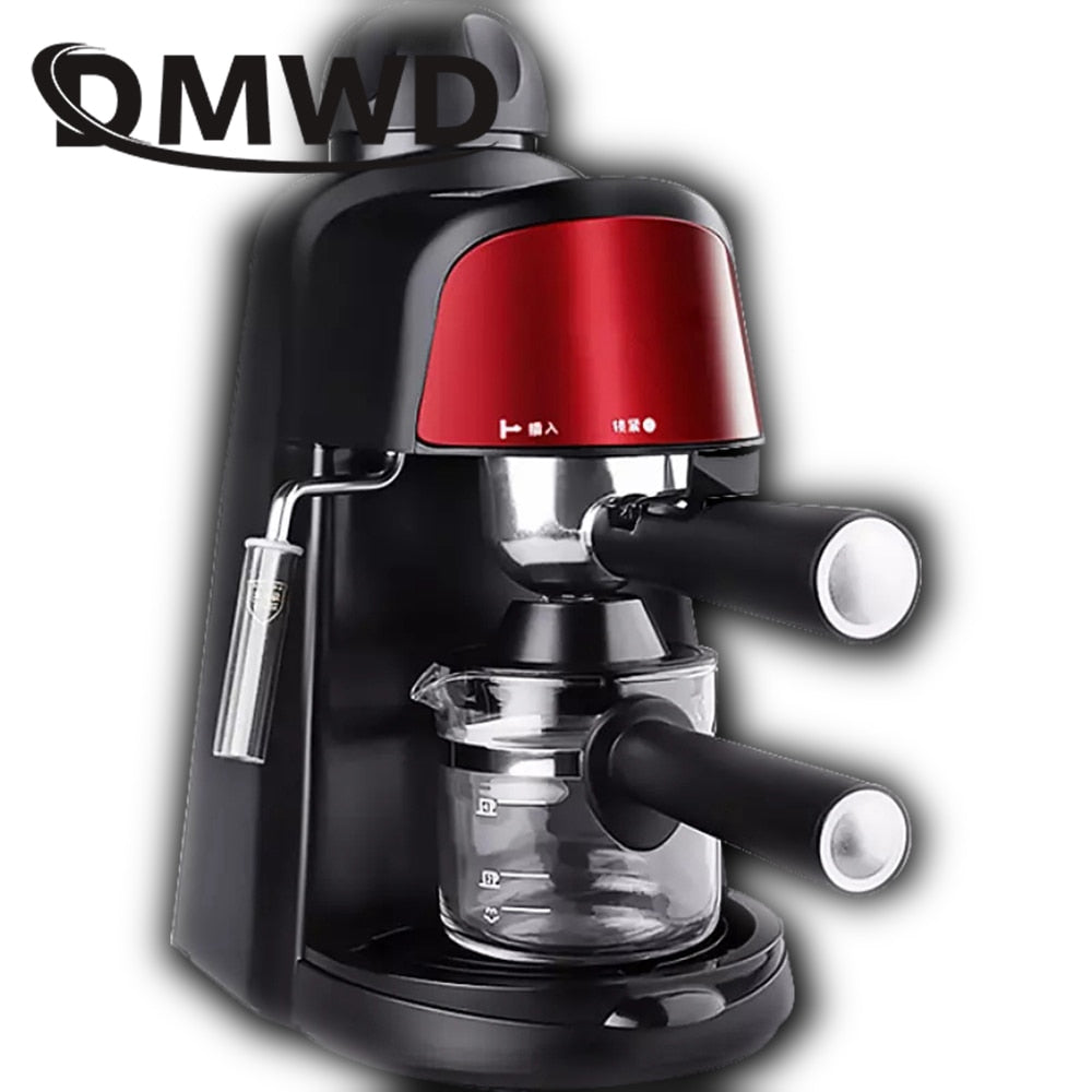 DMWD Italian High Pressure Steam Espresso Coffee Maker