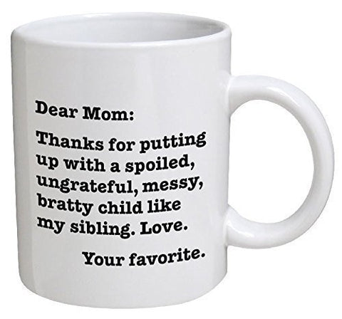 Image of Dear Mom Coffee Mug