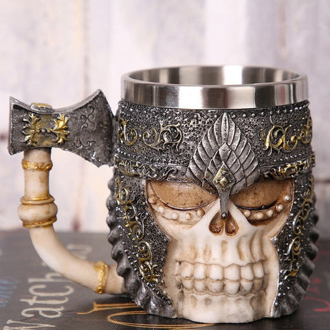 Image of Vintage Medieval Coffee Mug