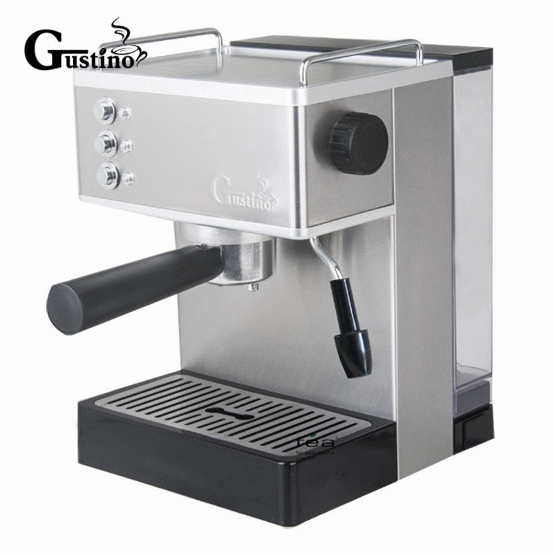 Gustino 19 BAR Semi Automatic Coffee Machine