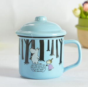 Cute Family Coffee Cups With Covers