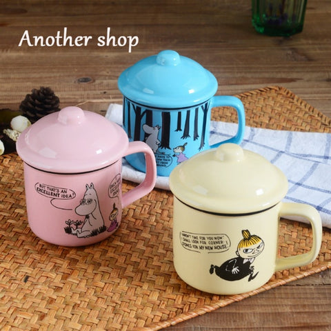 Image of Cute Family Coffee Cups With Covers