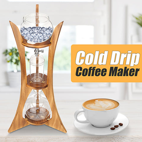Image of Practical Glass Cold Drip Coffee Maker
