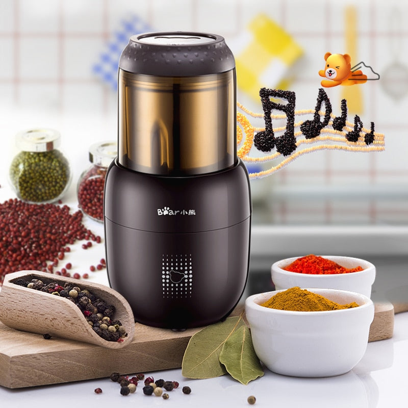 Portable Stainless Coffee Grinder Machine