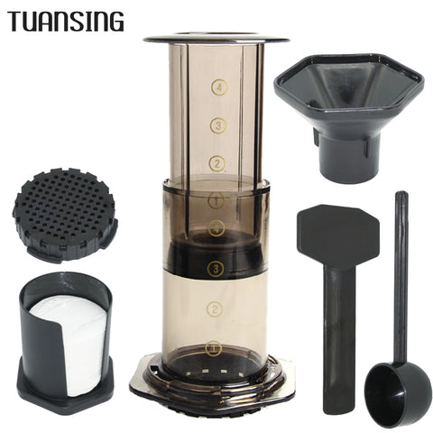 Image of Large Coffee Plunger Coffee Maker