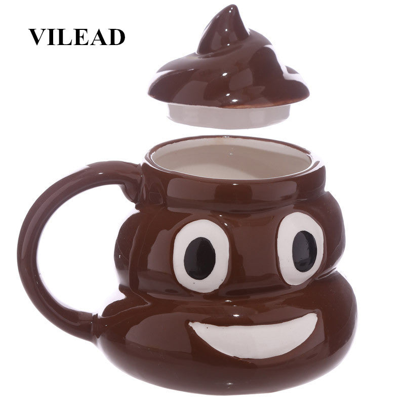 Poop Ceramic Coffee Cup