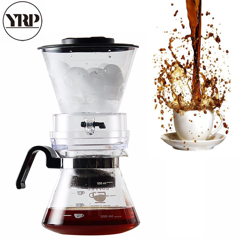 Dutch Ice Drip Cold Coffee Maker