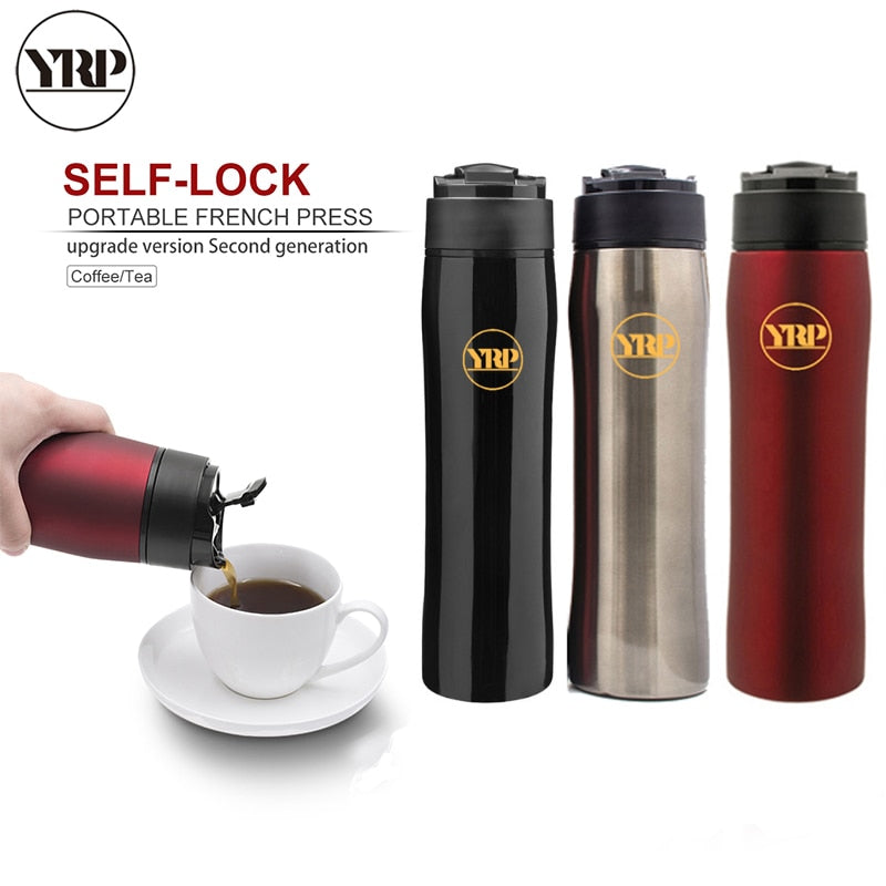 Stainless Steel Portable Coffee Plunger